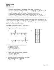 Chemistry 100 G Homework 1