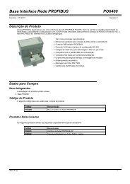 PO6400: Base Interface Rede PROFIBUS - Altus
