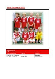 F2 U8-Junioren 2010/2011 Allgemeines - SKV Rot-Weiss Darmstadt
