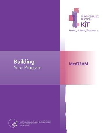 MedTEAM: Building Your Program - SAMHSA Store - Substance ...