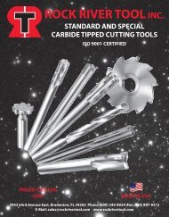 F/&D Tool Company 17021-HM1052 Hollow Mills 1.75 Shank Diameter 2 Overall Length 1 Hole Diameter 4 Number of Teeth