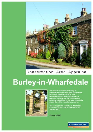Burley-in-Wharfedale Conservation Area Appraisal - Bradford ...