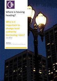 Policy essay 9 - Why is it important to change local authority borrowing rules - July 2014