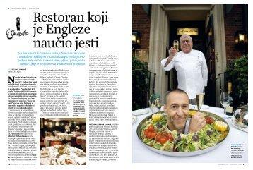 Restoran koji je Engleze naučio jesti - velimir cindric.com