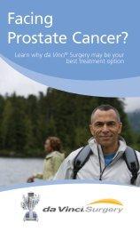 Download da Vinci® prostatectomy brochure - Advocate Health Care