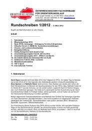 Rundschreiben 1/2012 – 8. März 2012 - ÖFOL