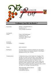 Trollinger-Cup 2011 im Bezirk 7 - WTB