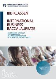 Læs mere om IBB-linien. - Handelsskolen Silkeborg