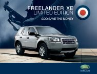 land rover Freelander Xe - Youblisher.com