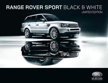 range rover sPorT BLACK & WHITE - Autohaus Henke