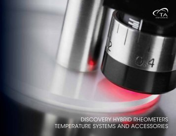 discovery hybrid rheometers temperature systems ... - TA Instruments