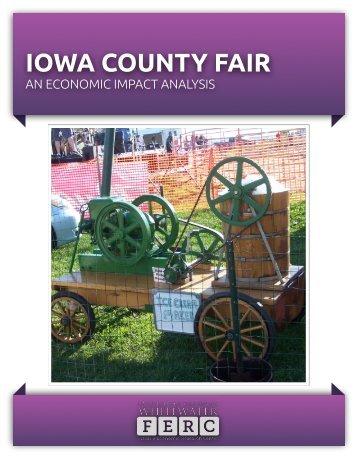 Iowa County Fair Impact Study