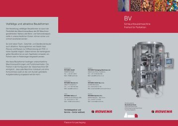 BV 2011 - DINlang - DE - belichtung  - ROVEMA