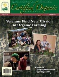 Veterans Find New Mission in Organic Farming - CCOF