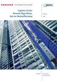 Logistics Center Heinrich Kipp Werke, Sulz on Neckar ... - viastore