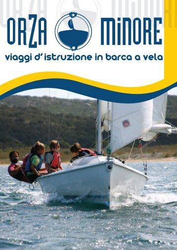 viaggi d' istruzione in barca a vela - Orza Minore