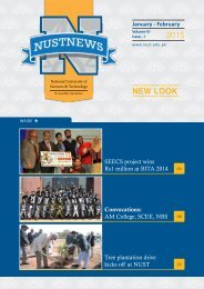 NUST NEWS Jan-Feb 2015