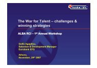 The War for Talent - ALBA Graduate Business School