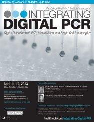 2013 Integrating Digital PCR Brochure.pdf - Cambridge Healthtech ...