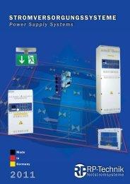 Power Supply Systems - RP-Technik