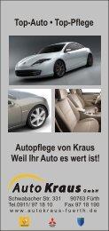 Top-Auto • Top-Pflege Autopflege von Kraus ... - Auto Kraus GmbH