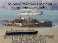 The complex network of global cargo ship movements - CABDyN
