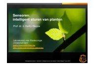 Sensoren: intelligent sturen van planten - PCS
