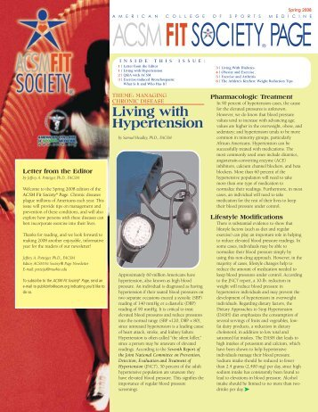 Spring 2008 FIT SOCIETY PAGE - American College of Sports ...