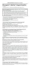 Dexagent®-Ophtal® Augentropfen - Dr. Winzer Pharma