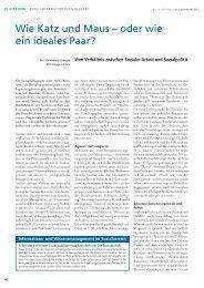 Ganzen Artikel lesen (pdf 88 kb) - Sozialinfo.ch