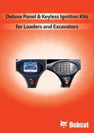 Deluxe Panel & Keyless Ignition Kits for Loaders and ... - DM-Ker Kft