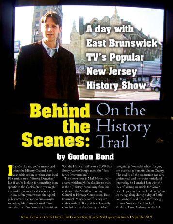 Gordon Bond - Garden State Legacy