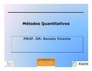 Aula 3 Prof. Renato Vicente