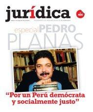 Especial de Pedro Planas. Revista Juridica N° 400 ... - jorge andujar