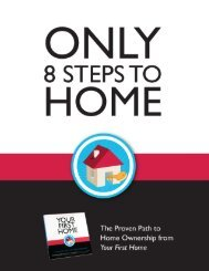 8 Steps to Home Ownership