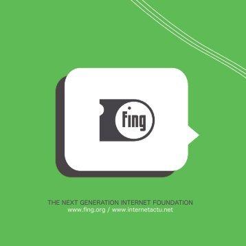THE NEXT GENERATION INTERNET FOUNDATION www.fing.org ...