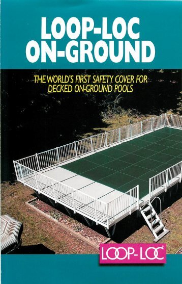 On-ground Covers Brochure - LoopLoc