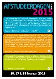Programmaboekje  OFM 2015