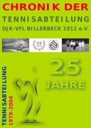 Mannschaften - Tennis in Billerbeck