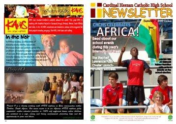 School Newsletter Summer 2010 - Cardinal Heenan Catholic High ...