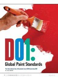 D01:Global Paint Standards - ASTM International