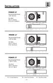 • Power woofer manual - Page 6