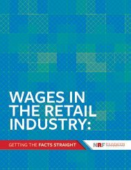 Wages in the Retail Industry REV