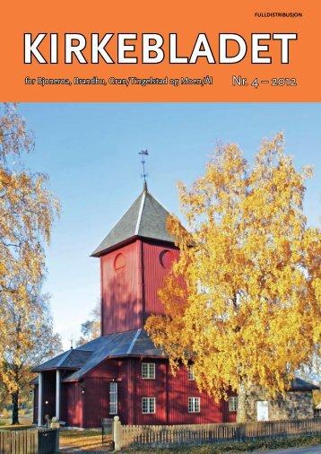 Nr. 4 – 2012 - Kirken i Gran - Den norske kirke