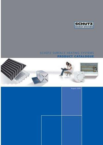 Schutz Under Floor Heating Product Catalogue - Nianpa