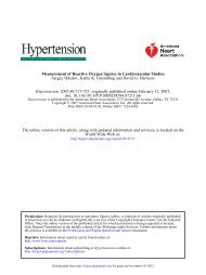 Measurement of Reactive Oxygen Species in ... - Hypertension