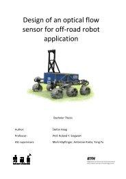 Design of an optical sensor for off application Design of an optical ...