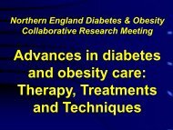 Advances in diabetes and obesity care: Therapy, Treatments and ...