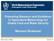 Promoting Research and Excellence in Agricultural - The World ...