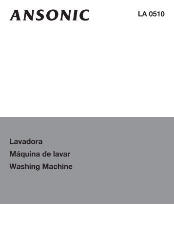 Lavadora Máquina de lavar Washing Machine - Areeta